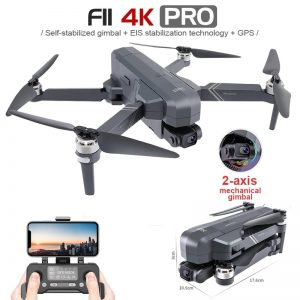 SHAREFUNBAY F11 PRO Drone Professional 4K HD Camera Gimbal Dron Brushless 5G Wifi Gps System Supports 128G TF Card RC Quadcopter