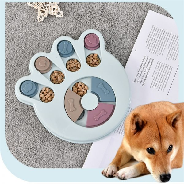 2020 Dog Puzzle Toys Increase IQ Interactive Slow Dispensing Feeding Pet Dog Training Games Feeder For Small Medium Dog Puppy