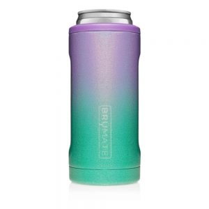 Beer Cooler Hopsulator Slim 12oz Slim Cans Double Wall 304 Stainless Steel Thermos Insulated Vacuum,Skinny Can Cooler