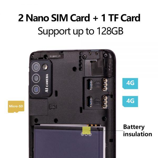 Cubot Note 7 Smartphone Triple Camera 13MP 4G LTE 5.5 Inch Screen 3100mAh Android 10 Dual SIM Card mobile phone Face Unlock