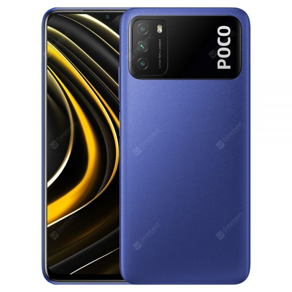 Xiaomi Poco M3 4G Smart Phone Media Qualcomm Snapdragon 662 6.53 Inch Screen Triple Camera 48MP + 2MP + 2MP 6000mAh Battery