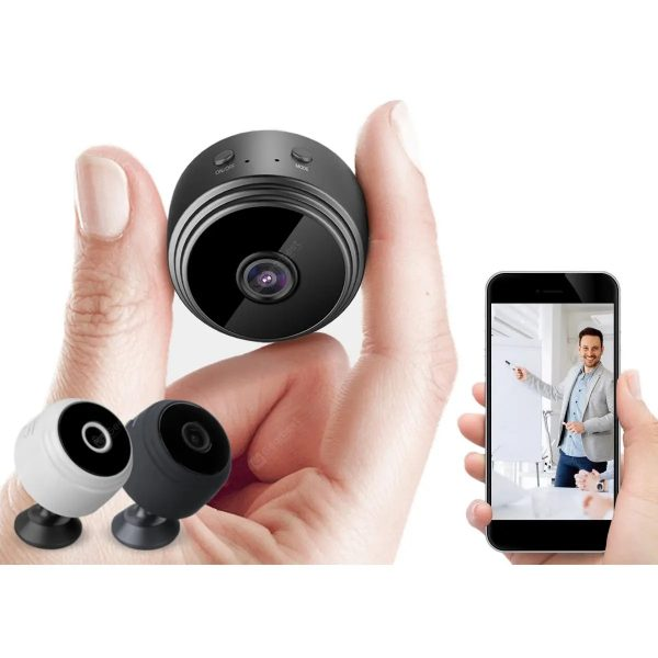 Gocomma A9 Mini WiFi HD 1080P CCTV Wireless IP Camera Home Security Night Vision 150 Degrees Wide Angle