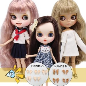 ICY DBS Blyth Doll 1/6 bjd acticulated doll 30cm TOY ob24 joint body gift hands on sale