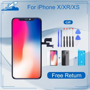 Elekworld Grade For iphone X OLED XS MAX XR TFT With 3D Touch Digitizer Assembly No Dead Pixel LCD Screen Replacement Display